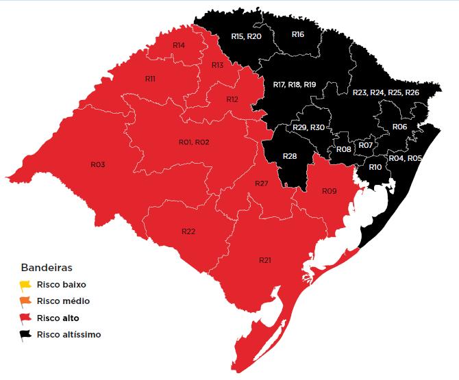 Prefeitura de Caxias do Sul publica decreto com novas restrições e multa de R$ 1,8 mil para quem descumprir normas