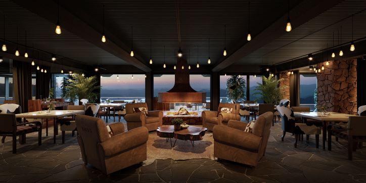 Hotel Laje de Pedra recebe restaurante de R$ 7 milhões