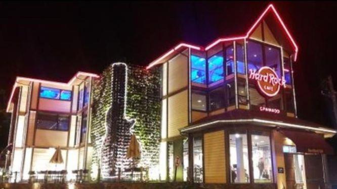Com cerca de 30 mil visitantes por mês, Hard Rock Café Gramado é o maior da América Latina