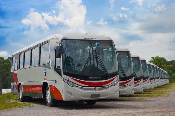 Marcopolo e Mercedes-Benz exportam 102 ônibus para o Uruguai