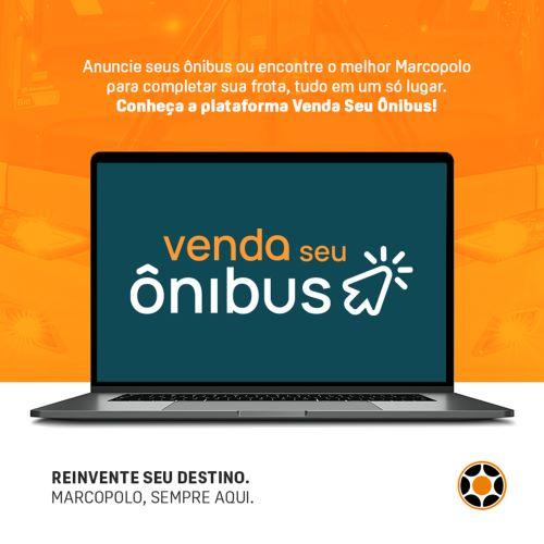 Marcopolo lança site para compra e venda de ônibus usados