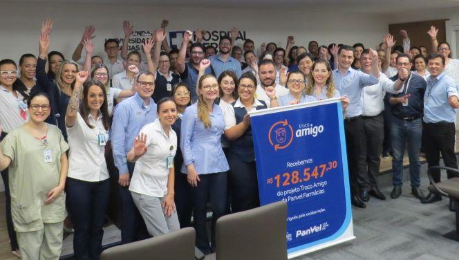 Campanha Troco Amigo entregará  cheque a Hospital Geral de Caxias do Sul