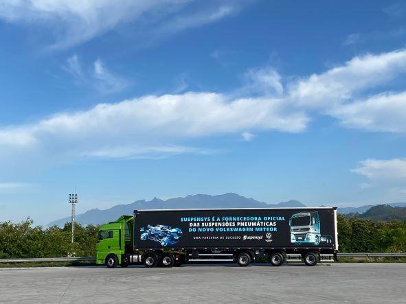 Suspensys entrega primeiros lotes de suspensões à Volkswagen Caminhões e Ônibus