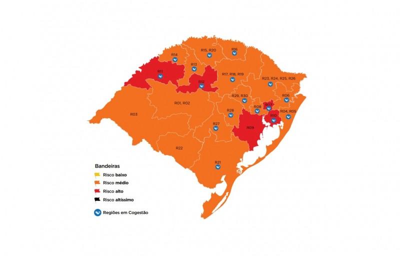 BANDEIRA LARANJA na região de Caxias completa dois meses seguidos