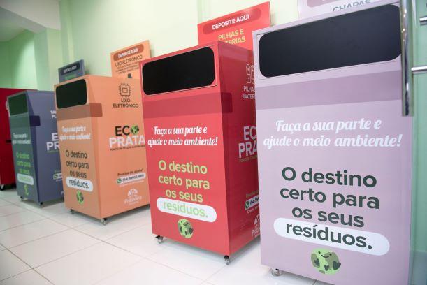 Novo ponto de coleta de lixo sustentável é inaugurado em Caxias do Sul